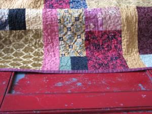 K's 2007 Christmas blanket