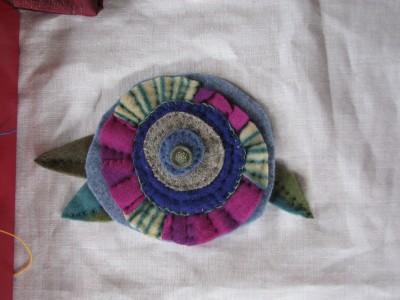 Pillow in progress