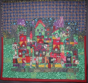 One of my first Village Quilts