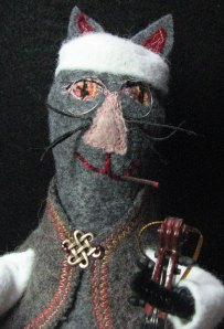 Cool Cat with Cigar