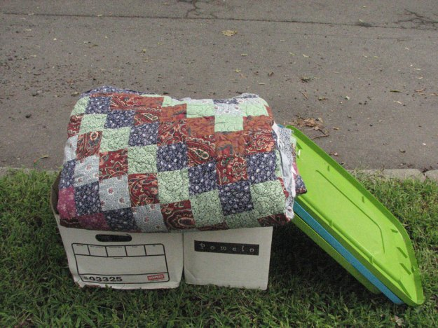 quilt-on-curb