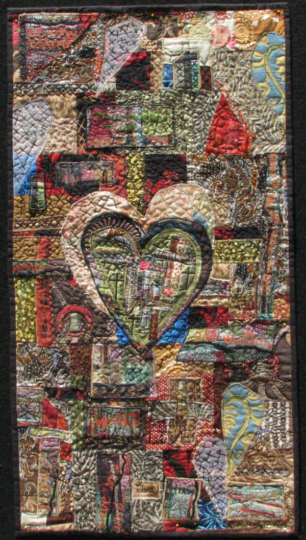 """Quilt, about 3' x 20"""""""