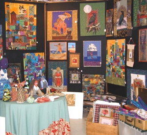 holly fair booth