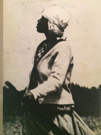 photo of photo in the Charleston Museum