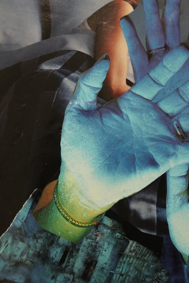 "Soul Collage card, 2012 - ""Dreamer"""