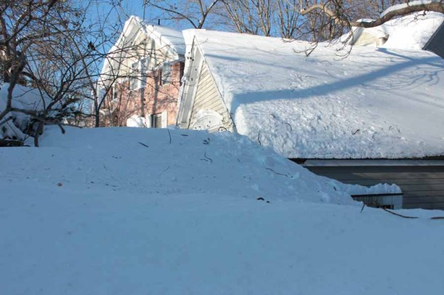 snow bank-winter2015